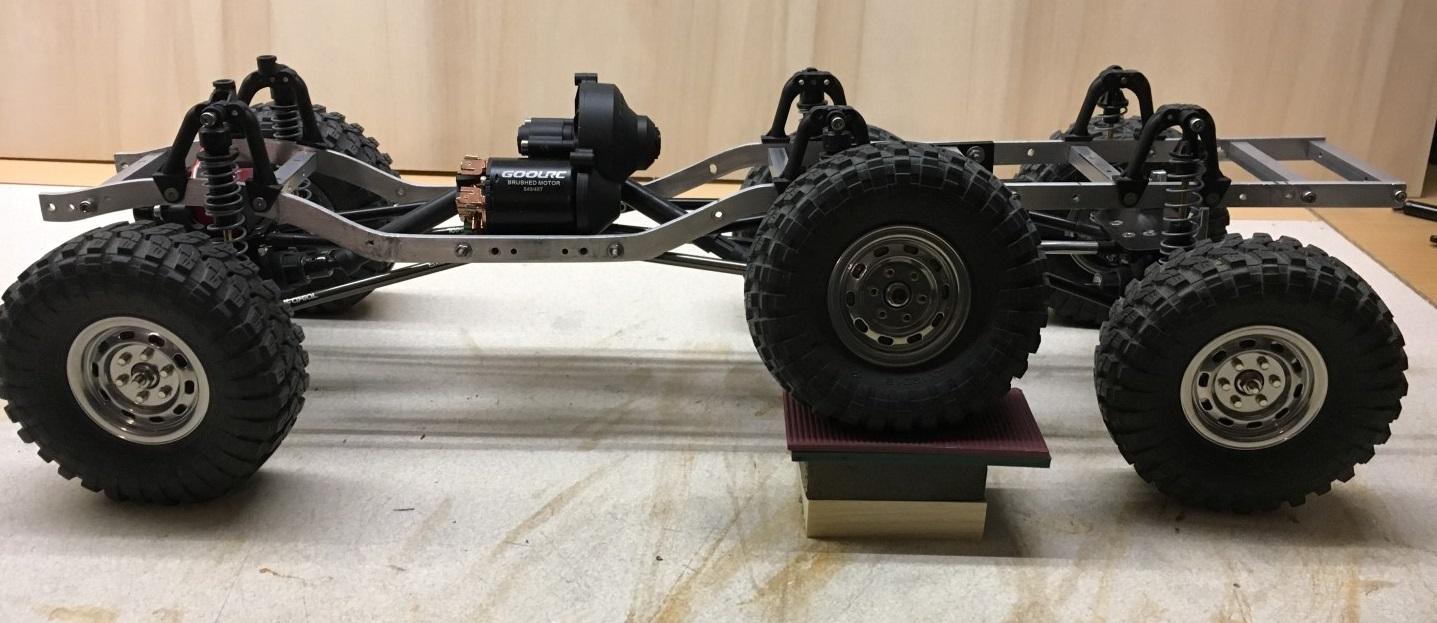 LKW - Bullhead Flatbed 6x6x6 mit SCX10-Achsen   RC-Modellbau-Portal